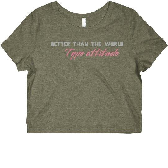 Better than the world