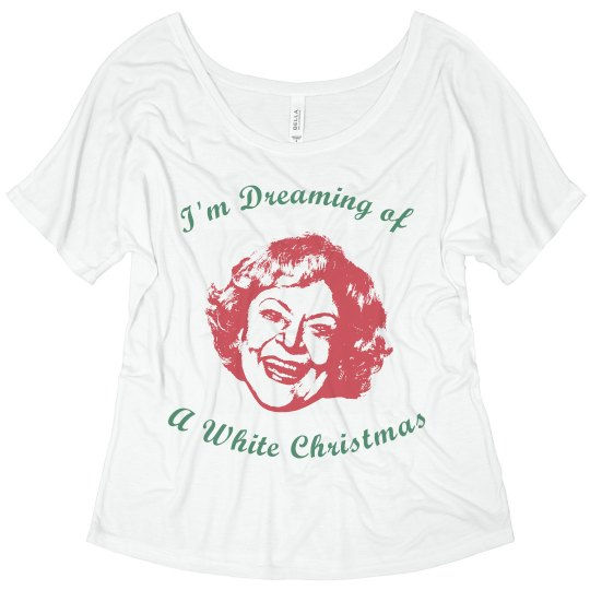 Betty White Christmas