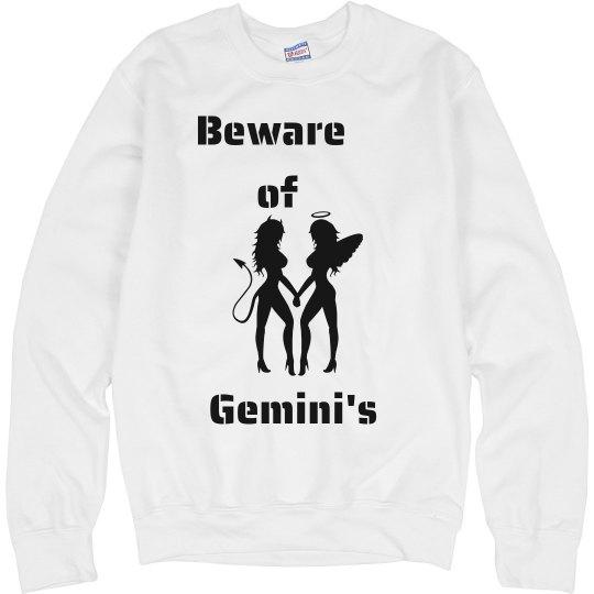 Beware of Gemini's