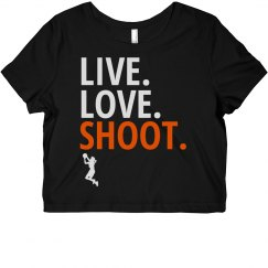 Live Love Shoot Basketball Words
