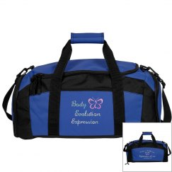 Body Evolution Expression- Glitter Gym Duffle bag