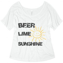 Beer Lime Sunshine