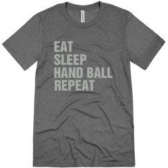 Eat sleep Hand ball