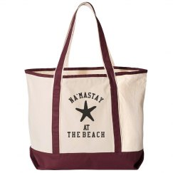 Na'mastay At The Ocean Beach Bag