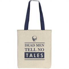 Dead Men Tell No Tales Skull Tote