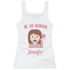 Emoji Maid of Honor Tank!