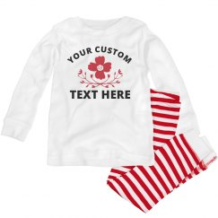 Customized Flower PJ's Design