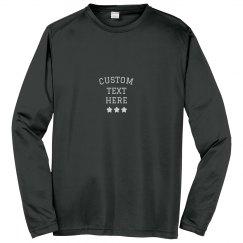 Create Custom Long-Sleeve Performance Shirts