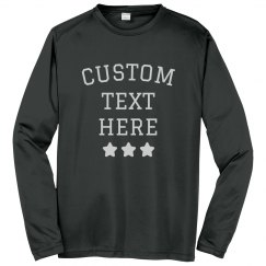 Create Custom Long-Sleeve Performance Shirts
