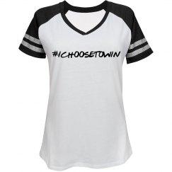 Black Sleeves White Shirt