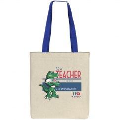 Be a Teacher--tote bag