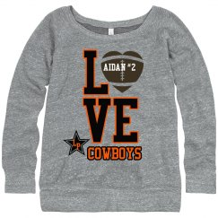 LOVE Cowboy Football