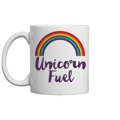 Unicorn fuel mug