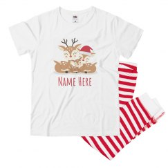 Youth Matching Family Reindeer Pj's