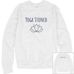 Yoga Stoned sweatshirt