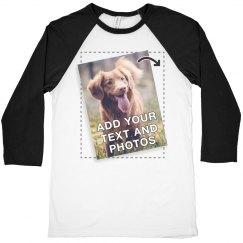 Customize A Raglan T-shirt