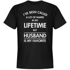 Husband is my favorite name