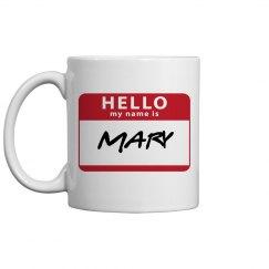 Customizable Name Mug