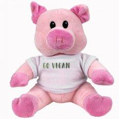 Go Vegan Piggy