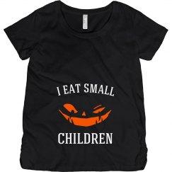 I Eat Small Children Pumpkin Demon