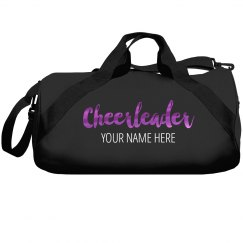 Custom Metallic Cheer Bag