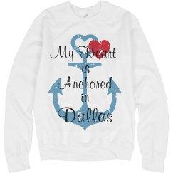 Heart anchored in dallas