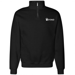 Stadium Half Zip (Black)