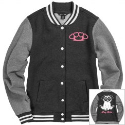 Pug Life Lettermans Jacket