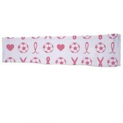 Soccer Ribbon Sports Sleeve