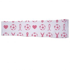 Soccer Ribbon Sports Sleeve