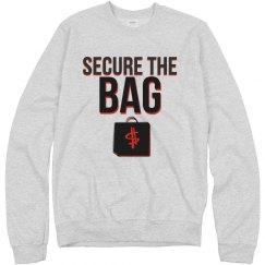 Secure crewneck