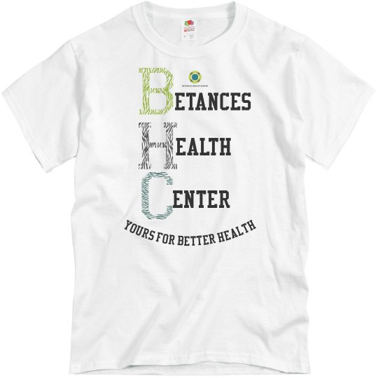 BHC yours for better health unisex tee