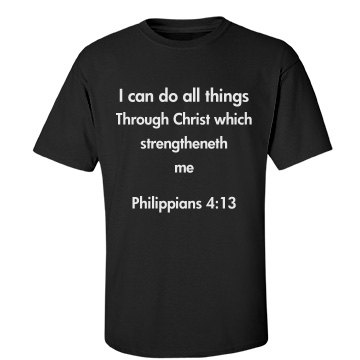 Bible quote tee-shirts