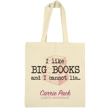Big Books Tote - Carrie Pack