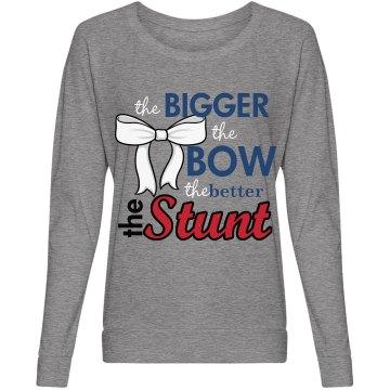 Big Bow Big Stunt Cheer