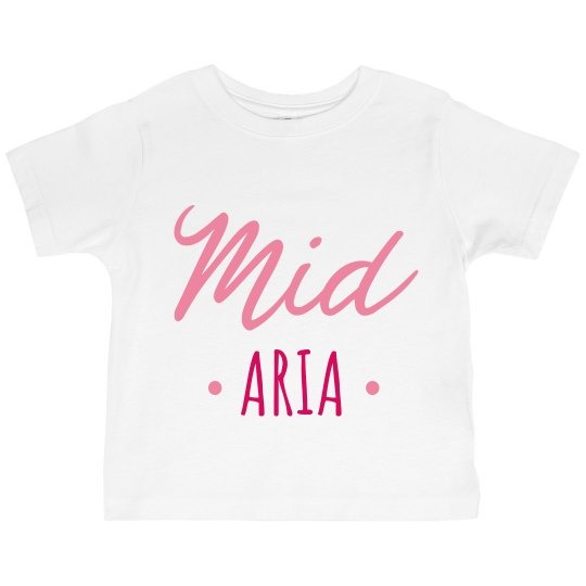Big Mid Lil Cute Siblings Shirts