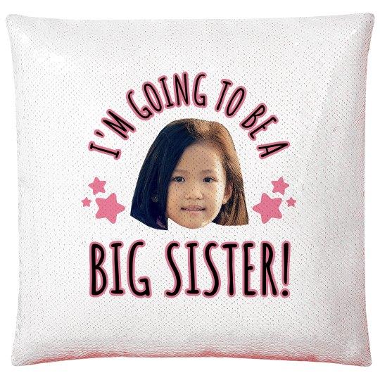 Big Sister Baby Announcement Custom