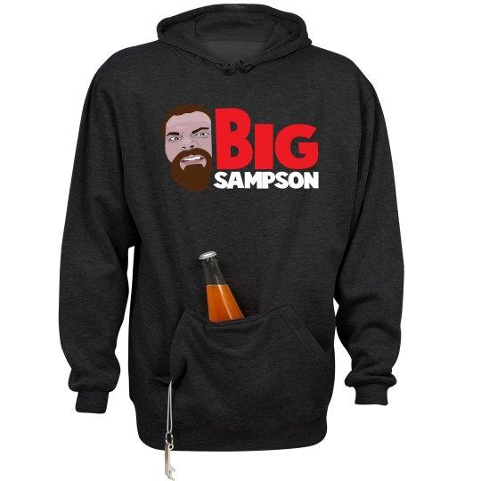 Bigsampson Hoodie w/Beer Holder
