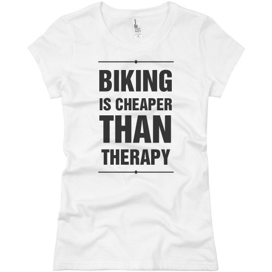 Biking Is Cheaper Than Therapy