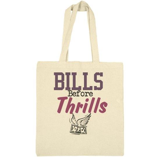 Bills first tote