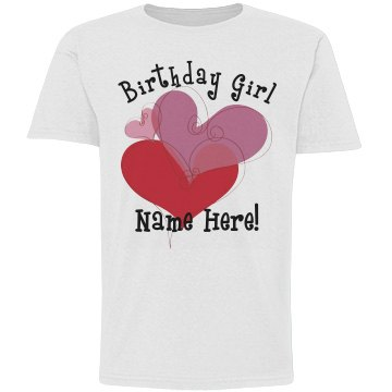 Birthday Girl Heart