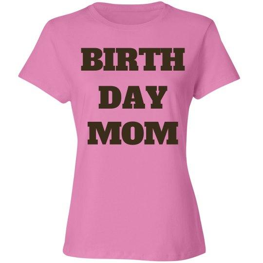 Birthday mom is 50