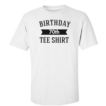 Birthday tee shirt