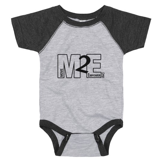 Black and Grey M2E Onsie