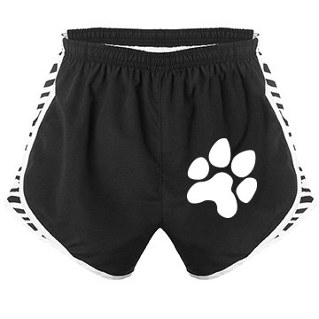 Black and White Sport Shorts