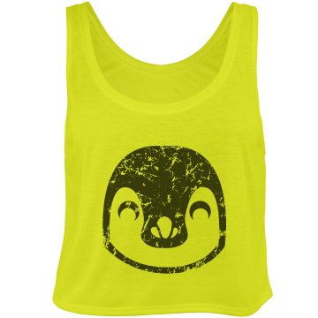 Black and Yellow Penguin