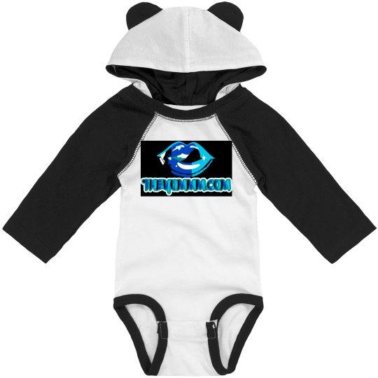 Black babii hoodie