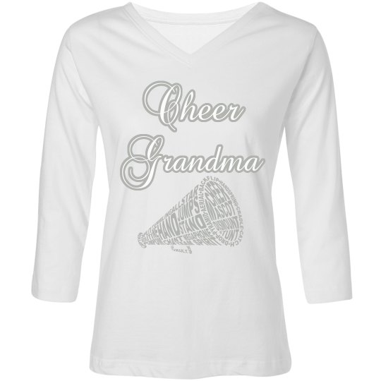 Black Cheer Grandma Tee