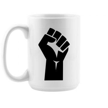 Black Fist Mug
