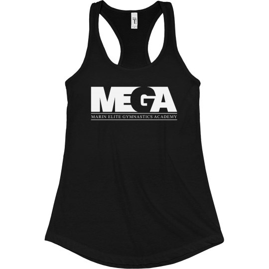 Black Ladies Racerback Tank